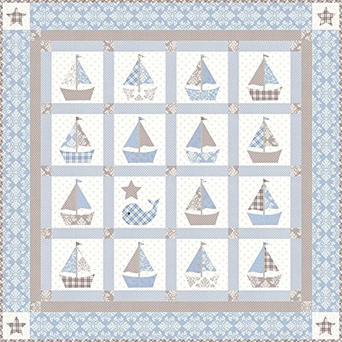 Bunny Hill Designs Cape Cod Baby Quilt Pattern