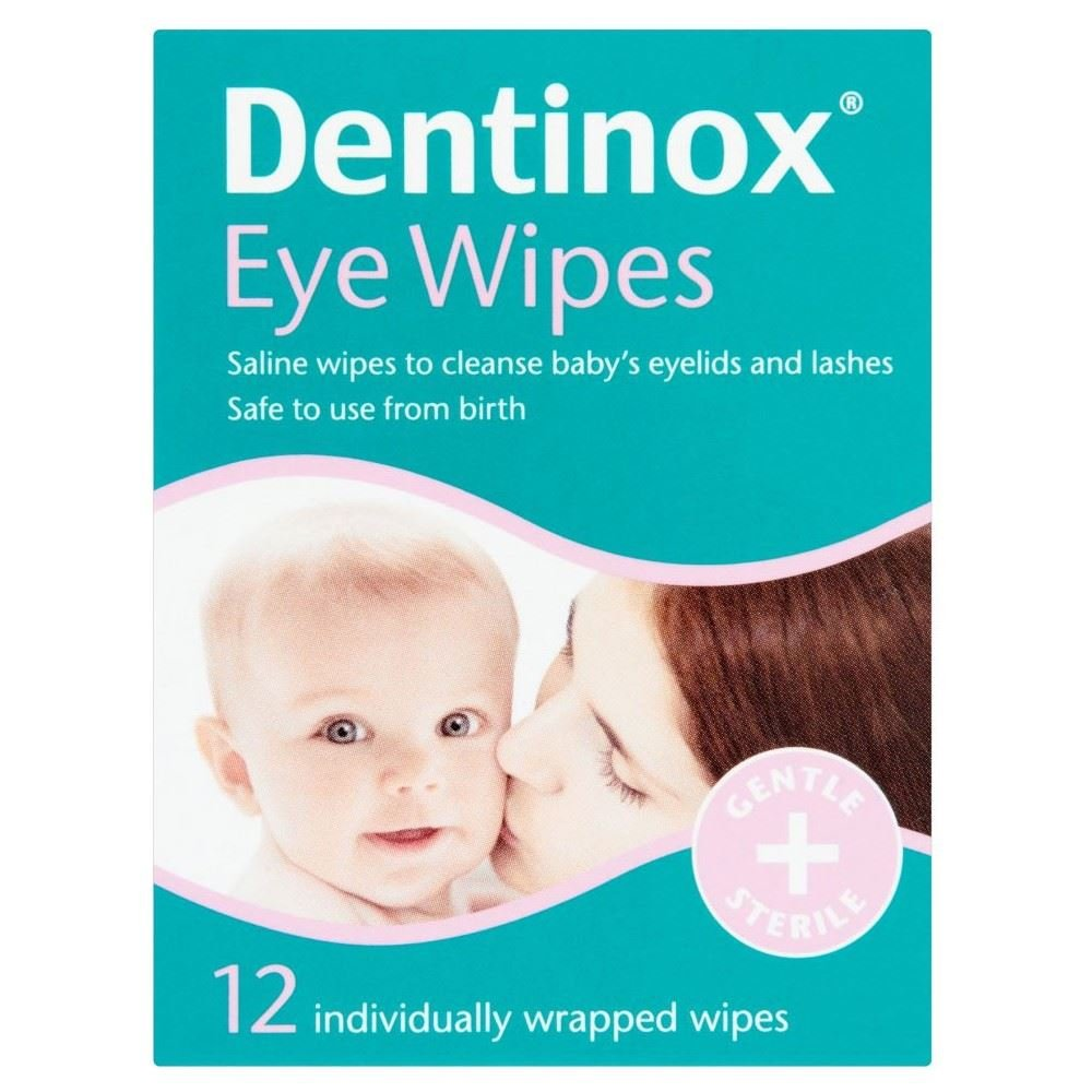Image result for Dentinox Baby eye wipes