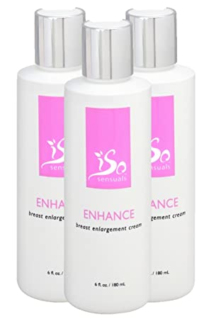 IsoSensuals Enhance Breast Enlargement Cream – 3 Bottles