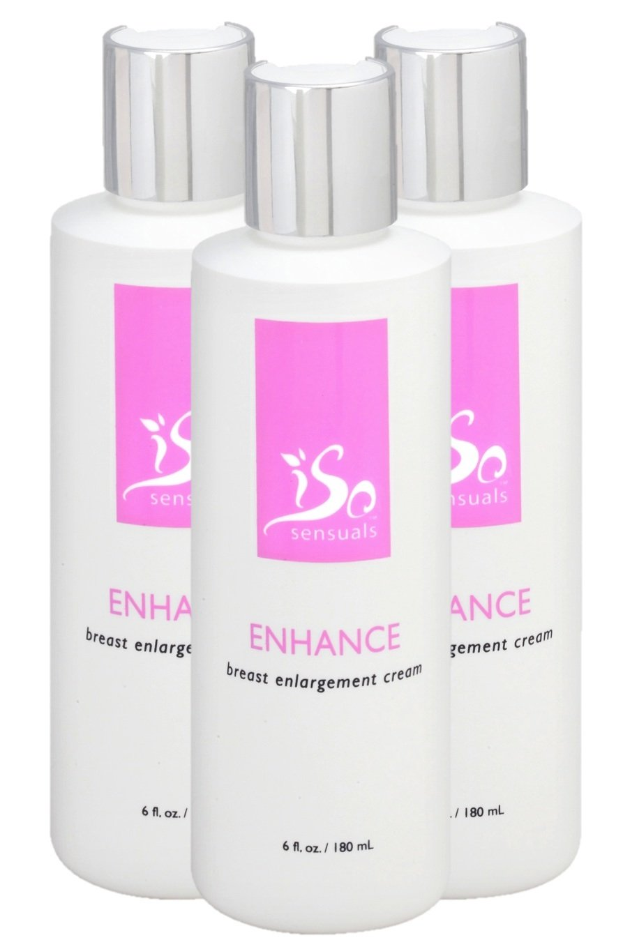 IsoSensuals ENHANCE | Breast Enlargement Cream - 3 Bottles