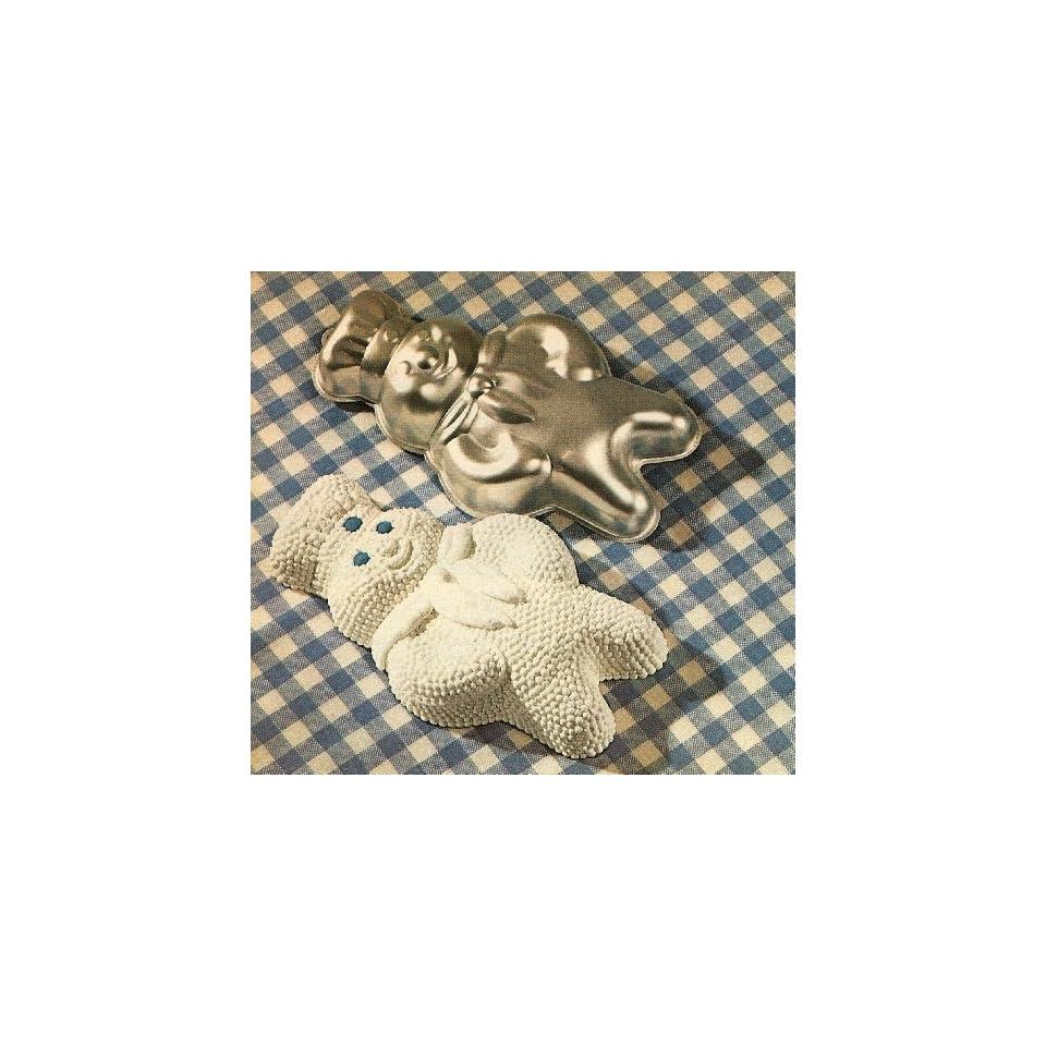 Wilton Cake Pan Poppin Fresh Pillsbury Doughboy Cake Mold ~ Large Size ~ Vintage 1974 (502 704)