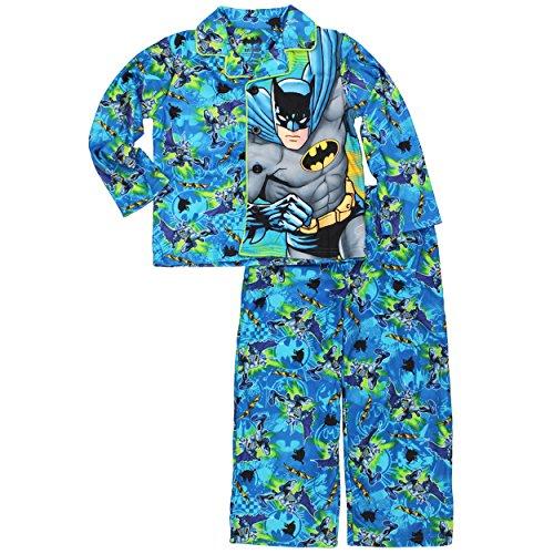Blue Coat Style Pajamas - Batman Big Boys'