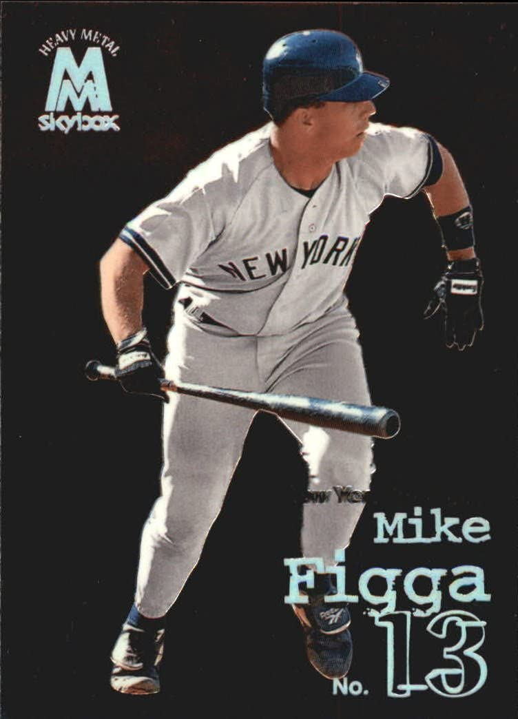 1999 SkyBox Molten Metal Baseball Card #129 Mike Figga