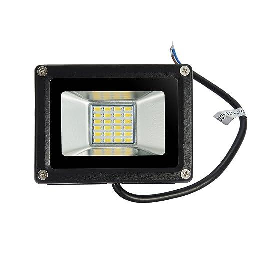 Foco proyector LED 20W para exteriores, 1500LM, Blanco cálido ...