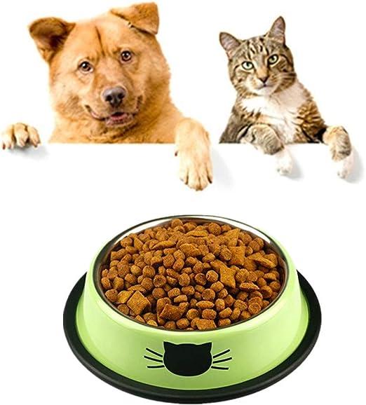 WESEEDOO - Cuenco pequeño para Comida de Gato, Gatos, Perros ...