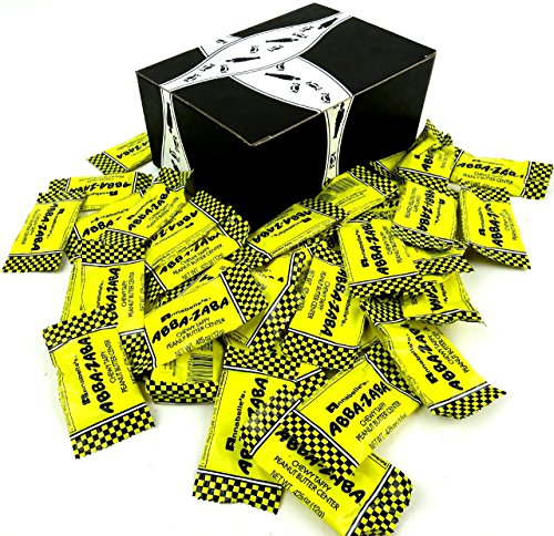 Annabelle's Abba-Zaba Minis, 0.425 oz Bars in a BlackTie Box (Pack of ()