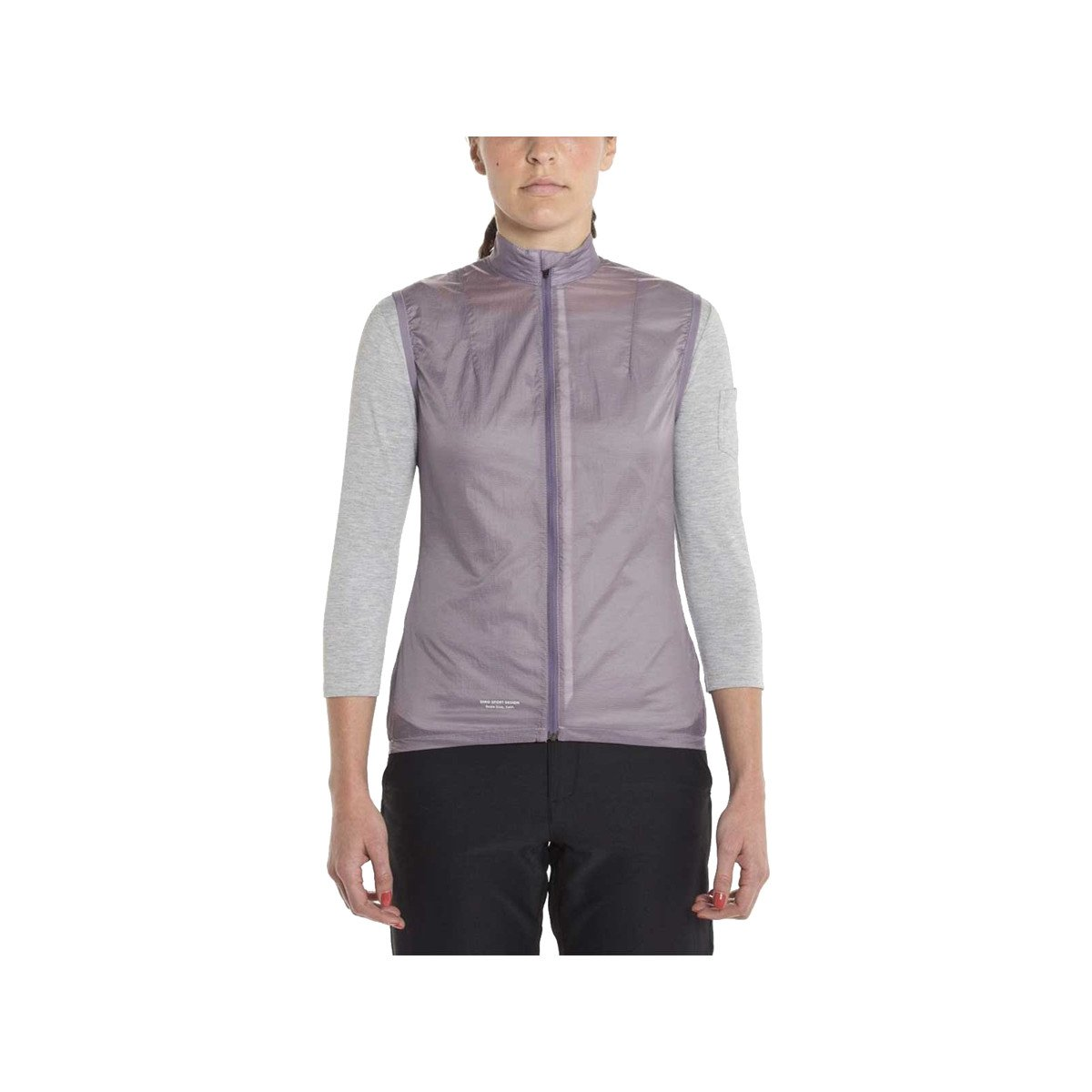 Giro Women'S New Road Wind Cycling Vest, Grey Ridge (Small)