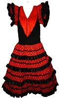 Robe flamenco sevillane pour fille