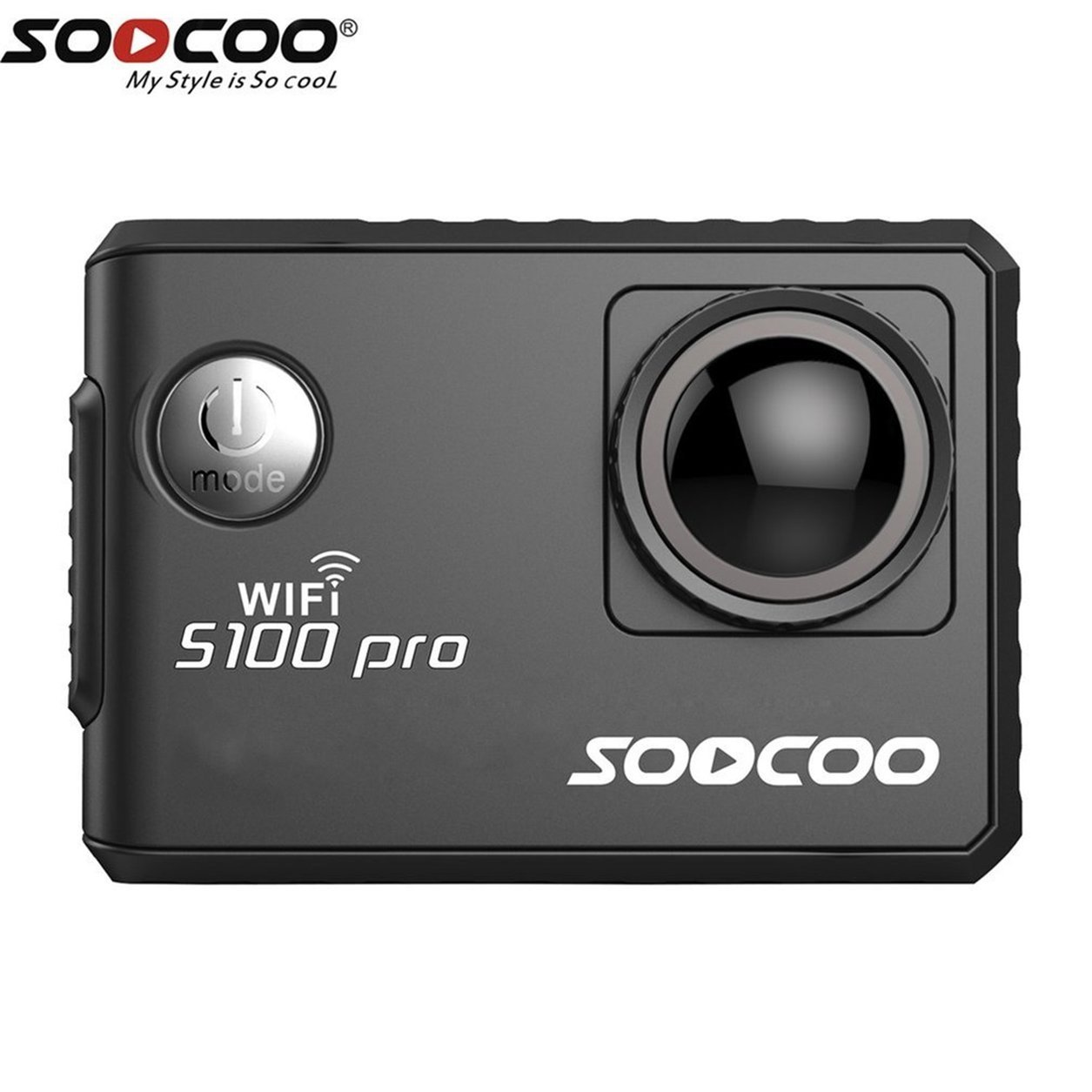 SOOCOO Voice Control S100Pro Action Camera Wifi 4K HD 2.0 Touch Screen Camera B07KLV7DLF