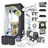TheBudGrower.com Complete Indoor Grow Kit With Fan, Soil, 24″x24″x60″ Hut – Everything You Need to Grow Plants Inside Review