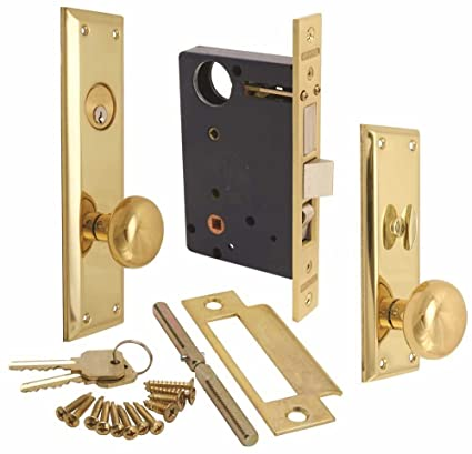 Marks Hardware 91A-LH Marks Mortise Lock, Left Hand, 4 2