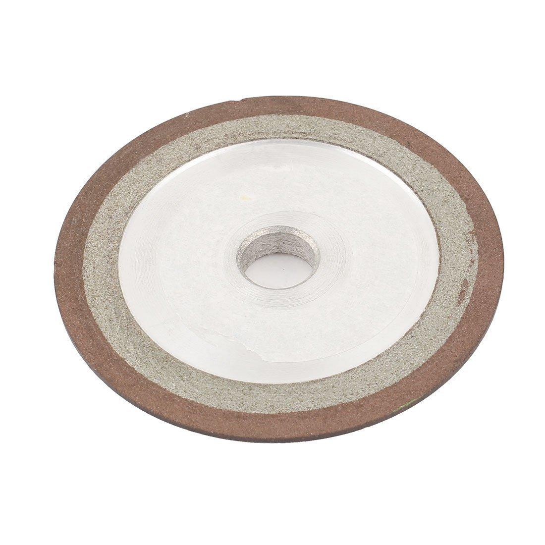 7, 62 cm x 0, 95 cm resina Bond Plain muela de rectificar tipo diamante molinillo 150 grano 75% Sourcingmap a14110300ux0850