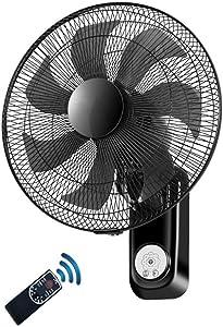 Wall-mounted fan Control Remoto Inclinado, Ventilador montado en la Pared de 16