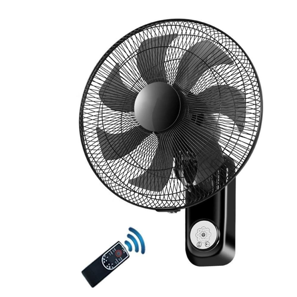 LYFS Wall Mounted 16'' 7 Leaves Wall/Desktop Mounted Remote Control Tilting Oscillating with Timer & Remote Low Noise Ideal for Home and Office Bring Cool by FAN