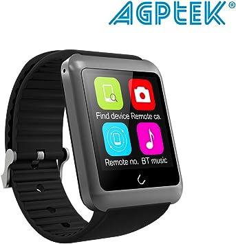 AGPtek U11 Reloj Inteligente Soporta gsm SIM Smartphone Android ...