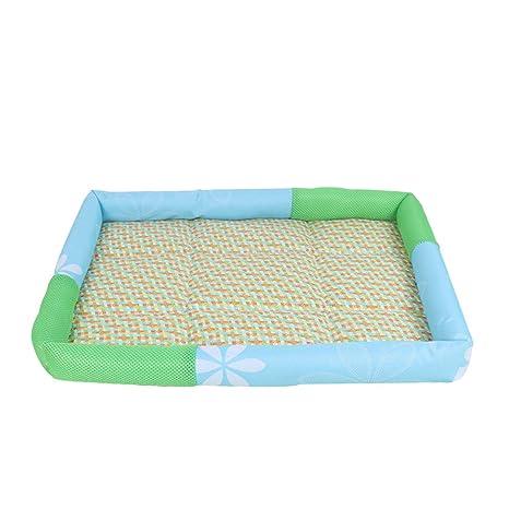 ueetek cama para perro alfombra refrescante caseta cojín para perros gatos