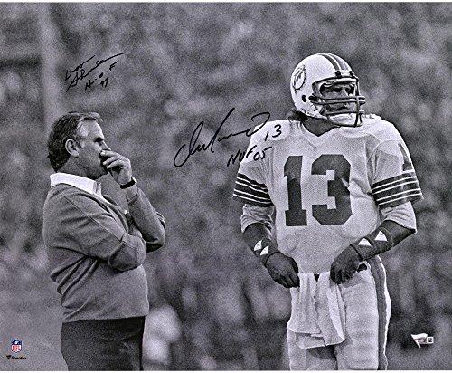 Dan Marino & Don Shula Miami Dolphins Autographed 16