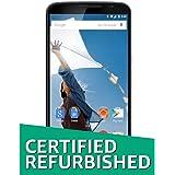 (Certified Refurbished) Google Nexus 6 SM3973AY2B1 (White)