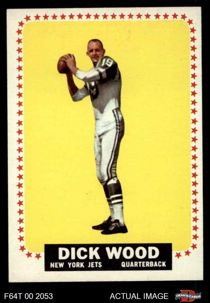 Amazon.com: 1964 Topps # 130 Dick Wood New York Jets (Football ...