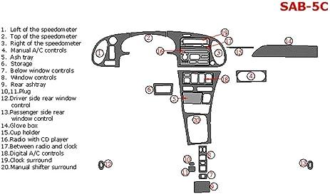 amazon com dash overlay kit item sab 5c spw saab 9 3 for models rh amazon com Service Manuals Saab Manual Transmission