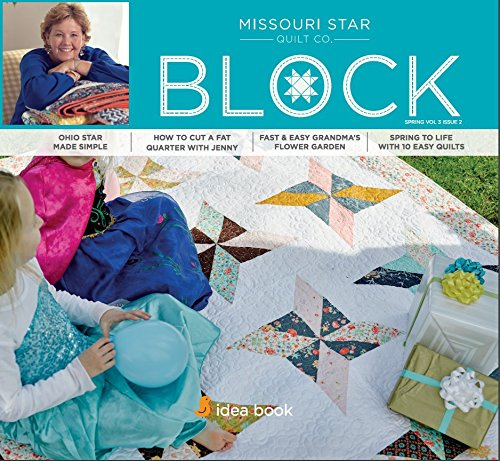Quilting Idea Book Block Magazine Spring 2016 Vol 3 Issue 2