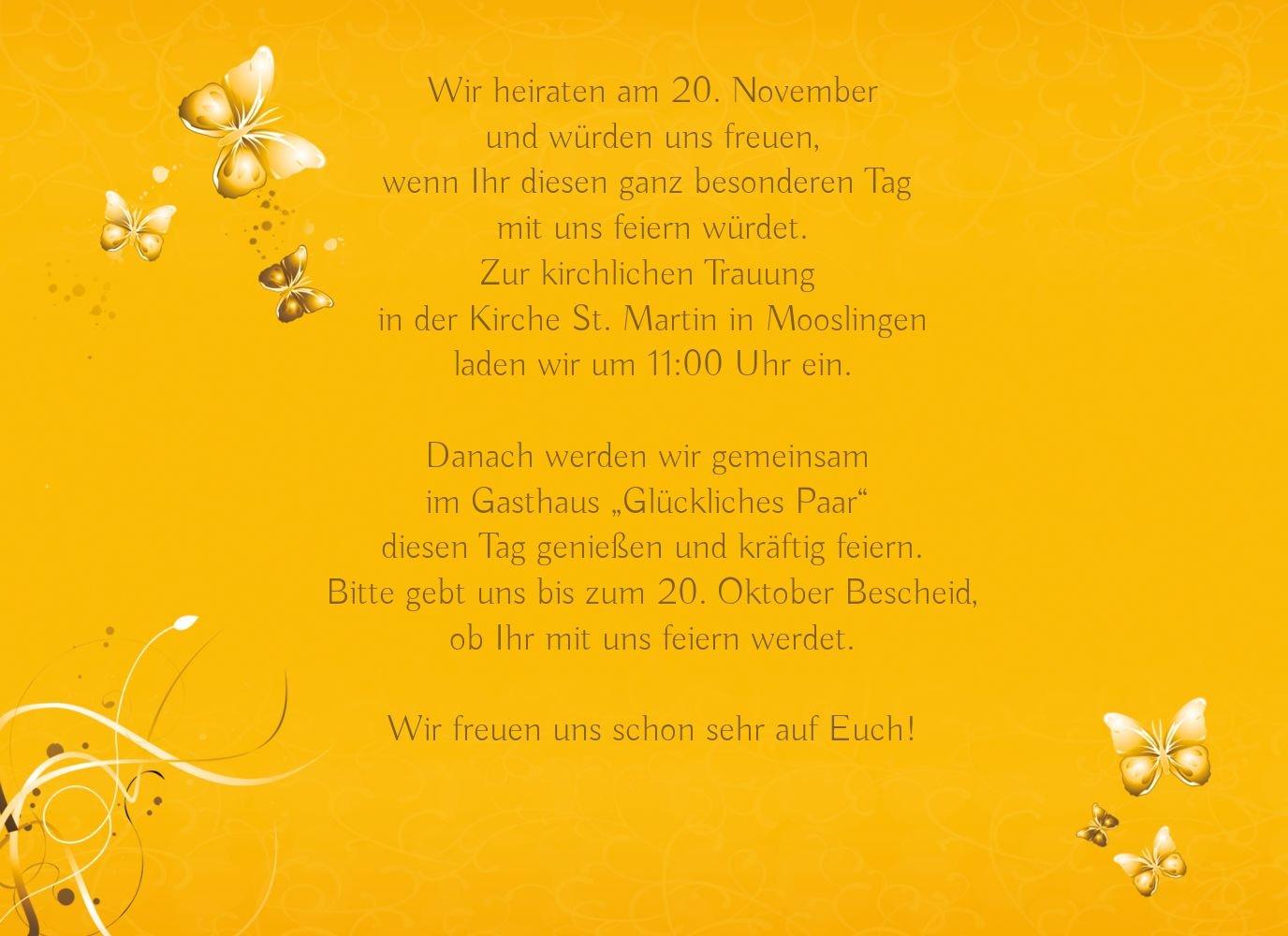 Kartenparadies Hochzeitskarte Hochzeit Einladung Einladung Einladung butterfly, hochwertige Einladung zur Heirat inklusive Umschläge   10 Karten - (Format  148x105 mm) Farbe  Lila B01N6TCFMM | Shop  | Deutschland Shop  | Spezielle Funktion  6b91b8