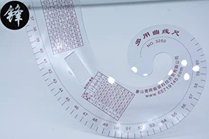 lepakshi 3250 multifunction curve ruler ruler tailoring cutting