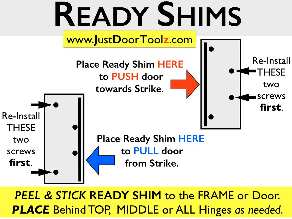 READY SHIMS FOR COMMERCIAL FIRE DOORS (PACK OF 100) - Door Hinges - Amazon.com  sc 1 st  Amazon.com & READY SHIMS FOR COMMERCIAL FIRE DOORS (PACK OF 100) - Door Hinges ...