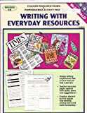img - for Writing With Everyday Resources: Teacher Resource Pages & Reproducible Activity Pages (Grades 4-6) book / textbook / text book