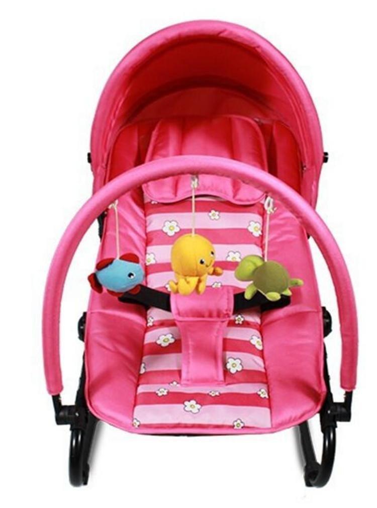 NWYJR Infant Rocker Neugeborene geeignet bequeme bewegliche faltbare Appease Baby-Wippe