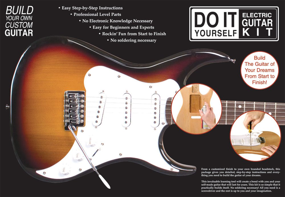 Axl do it yourself electric guitar kit amazon musical axl do it yourself electric guitar kit amazon musical instruments stage studio solutioingenieria Choice Image