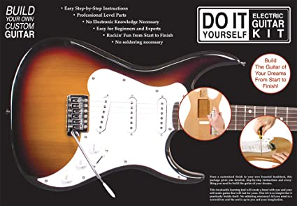 Amazon axl do it yourself electric guitar kit musical instruments axl do it yourself electric guitar kit solutioingenieria Image collections