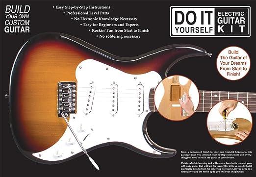 Axl Kit de bricolaje para guitarra eléctrica: Amazon.es ...