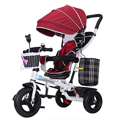 QDY-Cochecitos Carrito de bebé 4 en 1 Trike Bike Trike para ...