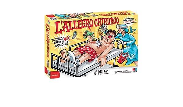 Hasbro - Juego electrónico Operación [Importado de Italia]: Amazon ...