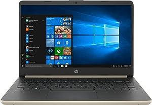 "2019 HP 14"" HD Touchscreen Business Laptop PC, Intel Dual Core i3-8145U Processor Upto 3.9GHz, 8GB RAM, 256GB SSD, WiFi, HDMI, USB-C, Bluetooth, Windows 10, Ash Silver Keyboard Frame"