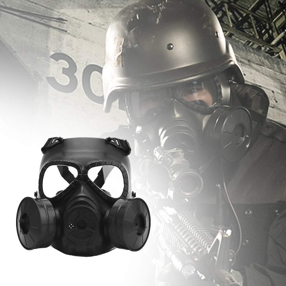 AFfeco M04 - Máscara de protección táctica para Airsoft, máscara de Gas con Correa Ajustable para Pistola BB Gun CS Disfraz de Halloween Masquerade: ...