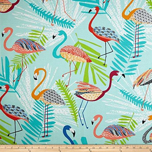 Richloom Indoor/Outdoor Flamingo Capri Fabric By The Yard (Flamingo Outdoor Fabric)