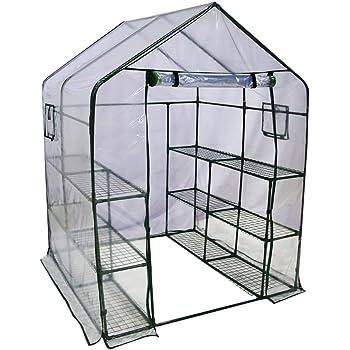 Amazon Com Abba Patio Walk In Greenhouse Fully Enclosed