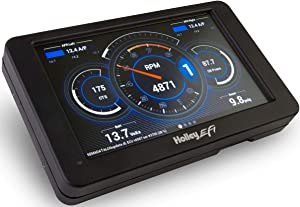 "BRAND NEW HOLLEY EFI DIGITAL DASH,1"" DEPTH,4.625"" HEIGHT,7.5"" WIDTH,7"" DIAGONAL SCREEN,COMPATIBLE WITH HOLLEY EFI,SNIPER EFI & TERMINATOR X SYSTEMS"