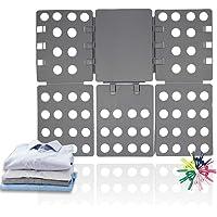 ValueHall Clothes Folder Shirts Folder Clothes Folding Board Kids Adult T-Shirt Folding aid Laundry Organizer Clothes…