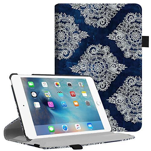 Fintie iPad Mini 4 Case - Multiple Angles Stand Case with Smart Cover Auto Sleep/Wake Feature for Apple iPad Mini 4 (2015 Release), Indigo Dreams
