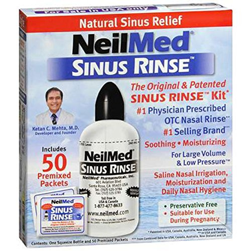 Neilmed Sinus Rinse Regular Kit (Ready Neilmed Rinse Sinuflo)