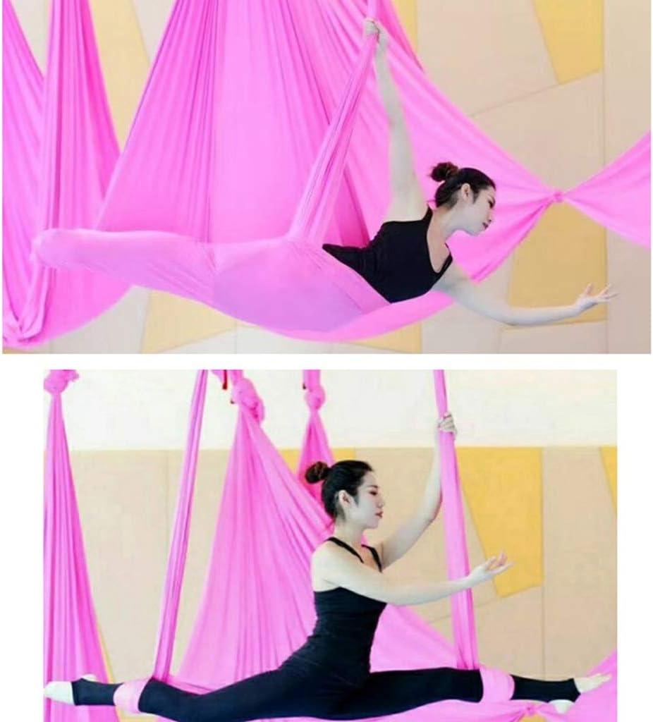 SM SunniMix Yoga Air Fliegen Sling Inversion H/ängematte Schaukel Tuch 5x2,8 m Fitness /Übungen f/ür Frauen M/änner