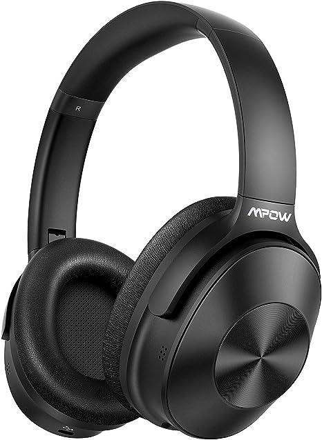 Hybrid Noise Cancelling Headphones Mpow H12 Bluetooth Amazon Co Uk Electronics