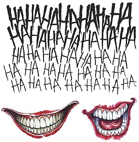 Amazoncom Rubies Mens Suicide Squad Joker Tattoo Kit As As