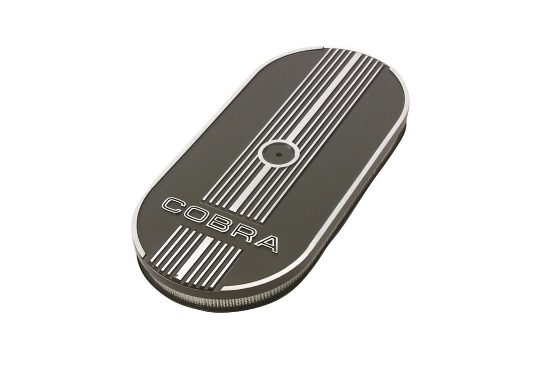 Ford Motorsport M9600C302 Single Quad Oval Air Cleaner M-9600-C302
