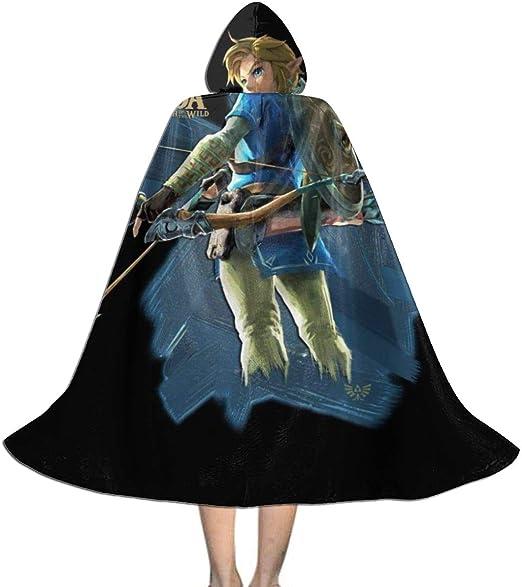 KUKHKU Link Zelda - Capa con Capucha para niños, Unisex, para ...