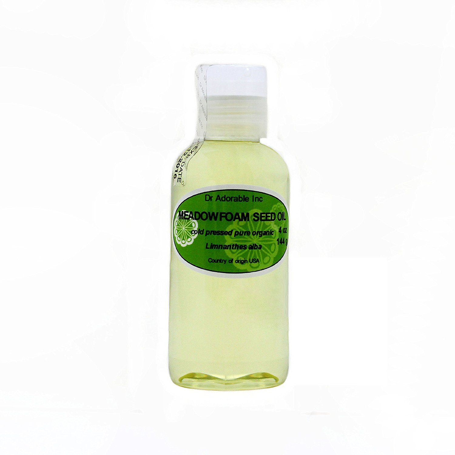 Meadowfoam Seed Oil Pure Organic by Dr.Adorable 4 Oz