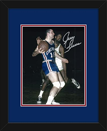 d38948b38 Image Unavailable. Image not available for. Color  Jerry Lucas Autographed  Cincinnati Royals 8x10 Photograph with Mat and Frame - Certified Authentic  ...